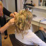 bröllop håruppsättning